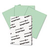 Digital Index Color Card Stock, 90 lb, 8 1/2 x 11, Green, 250 Sheets/Pack
