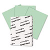 Springhill® Digital Vellum Bristol Color Cover, 67 lb, 8 1/2 x 11, Green, 250 Sheets/Pack SGH046000