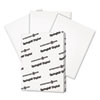 Digital Vellum Bristol White Cover, 67 lb, 8 1/2 x 11, White, 250 Sheets/Pack