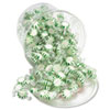 <strong>Office Snax®</strong><br />Starlight Mints, Spearmint Hard Candy, Individual Wrapped, 2 lb Resealable Tub