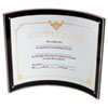 deflect-o® Superior Image Magnetic Certificate Holder, Plastic, 8-1/2 x 11, Black/Clear DEF680375