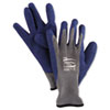 <strong>AnsellPro</strong><br />PowerFlex Gloves, Blue/Gray, Size 10, 1 Pair