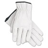 MCR™ Safety Grain Goatskin Driver Gloves, White, X-Large, 12 Pairs - 127-3601XL