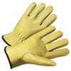Anchor Brand® 4000 Series Pigskin Leather Driver Gloves, Beige, X-Large, 12 Pairs - ANR4800XL