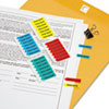 "<strong>Redi-Tag®</strong><br />Mini Arrow Page Flags, ""Sign Here"", Blue/Mint/Red/Yellow, 126 Flags/Pack"