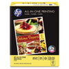 HP All-In-One Printing Paper, 96 Brightness, 22lb, 8-1/2 x 11, White, 500 Sht/Ream HEW207010