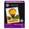 HP Color Inkjet Paper, 97 Brightness, 24lb, 8-1/2 x 11, White, 500 Sheets/Ream HEW202000