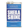 Sheila Shine Stainless Steel Cleaner & Polish, 1gal Can, 4/Carton - 4