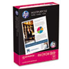 HP Multipurpose Paper, 96 Brightness, 20 lb, 8 1/2 x 11, White, 500 Sheets/Ream HEW112000