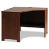 Bush® Envoy Corner Desk Shell, 42 1/8w x 42 1/8d x 30 1/4h, Hansen Cherry BSHPR76520