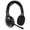 Logitech® H800 Binaural Over-the-Head Wireless Bluetooth Headset, 4 ft Range, Black LOG981000337