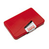 Carter's® Felt Stamp Pad, 4 1/4 x 2 3/4, Red AVE21071