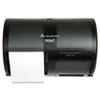 Georgia Pacific® Professional Coreless Double Roll Tissue Dispenser, 10 1/8 x 6 3/4 x 7 1/8, Smoke/G GPC56784