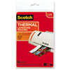 Photo Size Thermal Laminating Pouches, 5 mil, 6 x 4, 20/Pack