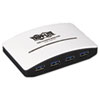 Tripp Lite 4-Port USB 3.0 SuperSpeed Hub, Black TRPU360004R