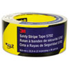 3M Caution Stripe Tape, 2w x 108ft Roll MMM57022