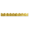 "Terrific Trimmers Metallic Borders, Gold, 10 Strips, 2 1/4"" x 39"" each"