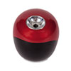 iPoint® Ball Battery Sharpener, Red/Black, 3w x 3d x 3 1/3h ACM15570