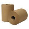 Wausau Paper® EcoSoft Hardwound Roll Towels, 350 ft x 8 in, Natural, 12 Rolls/Carton - 46200