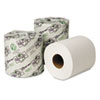 Wausau Paper® EcoSoft Universal Bathroom Tissue, 1-Ply, 1,000 Sheets/Roll, 48 Rolls/Carton - 14800