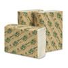 Wausau Paper® EcoSoft Multifold Towels, White, 250 Towels/Pack, 16 Packs/Carton WAU48500