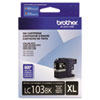Brother LC103BK High Yield Black Ink Cartridge