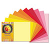Tru-Ray Construction Paper, 76 lbs., 12 x 18, Assorted, 25 Sheets/Pack
