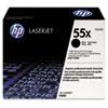 HP 55X, (CE255X) High-Yield Black Original LaserJet Toner Cartridge