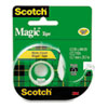 "Scotch® Magic Tape in Handheld Dispenser, 1/2"" x 800"", 1"" Core, Clear MMM119"