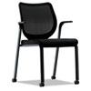 HON® Nucleus Series Multipurpose Chair, Black ilira-stretch M4 Back, Black HONN606NT10