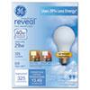 GE Halogen A-Line Bulb, A19, 325 lm, 2/Pack GEL63006