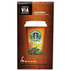 VIA Ready Brew Coffee, 3/25oz, Colombia, 8/Box