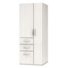 e5 Series Wardrobe Tower, 23-1/2w x 23-1/2d x 62h, White