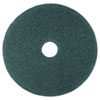 "Cleaner Floor Pad 5300, 20"" Diameter, Blue, 5/Carton"