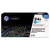 HP 314A (Q7561A) Cyan Original LaserJet Toner Cartridge - Laser - 3500 Page - 1 Each HEWQ7561A