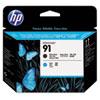 <strong>HP</strong><br />HP 91, (C9460A) Matte Black/Cyan Printhead