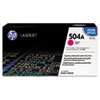 HP 504A, (CE253A) Magenta Original LaserJet Toner Cartridge