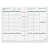 Original Dated Weekly/Monthly Planner Refill, Jan.-Dec., 5 1/2 x 8 1/2, 2018