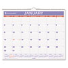 AT-A-GLANCE® Monthly Wall Calendar, 15 x 12, Red/Blue, 2017 AAGPM828