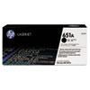 <strong>HP</strong><br />HP 651A, (CE340A) Black Original LaserJet Toner Cartridge