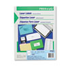 PRES-a-ply™ Laser Full-Sheet Labels, 8 1/2 x 11, White, 100/Box AVE30605