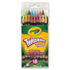 Crayola® Twistables Colored Pencils,18 Assorted Colors/Pack CYO687418