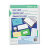 PRES-a-ply™ Laser Address Labels, 1 1/3 x 4 1/4, Clear, 700/Box AVE30622