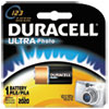 Duracell® Ultra High-Power Lithium Battery, 123, 3V, 1/EA DURDL123ABPK