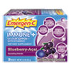 Emergen-C® Immune+ Formula, .3oz, Blueberry Acai, 30/Pack - EF007
