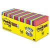 Post-it® Notes Super Sticky Pads in Rio de Janeiro Colors, 3 x 3, 70-Sheet, 24/Pack MMM65424SSAUCP