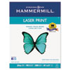 Hammermill® Laser Print Office Paper, 98 Brightness, 24lb, 8-1/2 x 11, White, 500 Sheets/Rm HAM104604