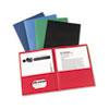 Avery® Two-Pocket Folder, 20-Sheet Capacity, Assorted Colors, 25/Box AVE47993