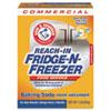 Arm & Hammer® Fridge-N-Freezer Pack Baking Soda, Unscented, Powder, 16 oz., 12/Carton CDC3320084011CT