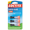 Super Glue, 0.11 oz, Dries Clear, 3/Pack